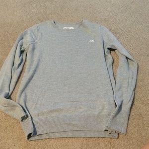 Grey Hollister sweater